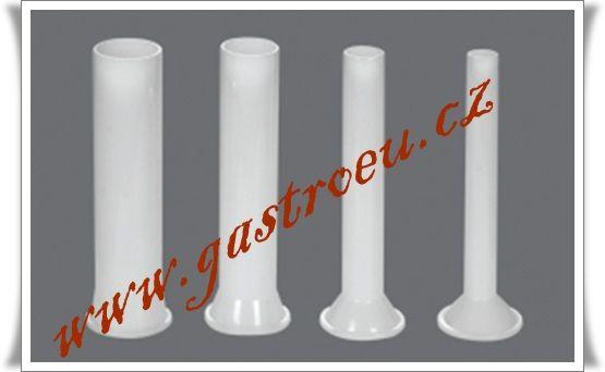 4 plastové plnící nástavce na klobásy Rossler