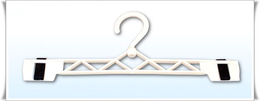 Plastová ramínka klips otočná 25,5 cm LINDON