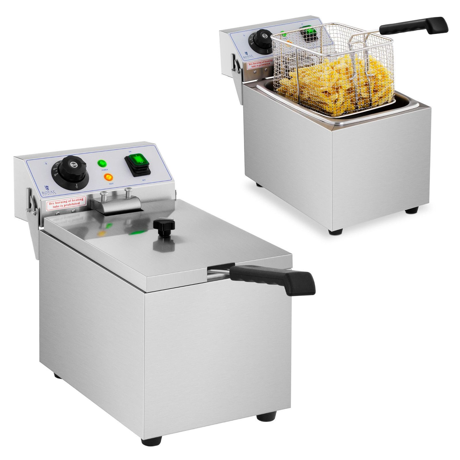 Royal Catering fritéza RCEF 08EB