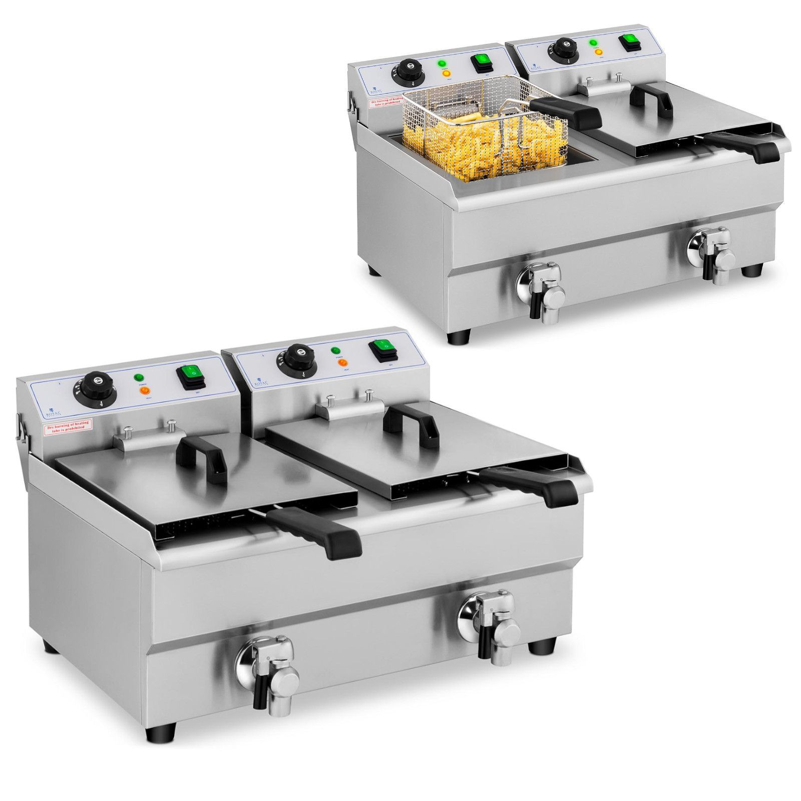 Royal Catering fritéza RCEF 10DB