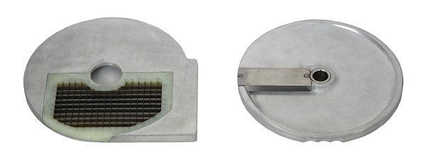 Gastro Krájecí kotouč - kostka 8 x 8 mm komplet