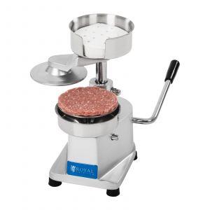 Royal Catering Tvarovací stroj na hamburgery RCHM-100