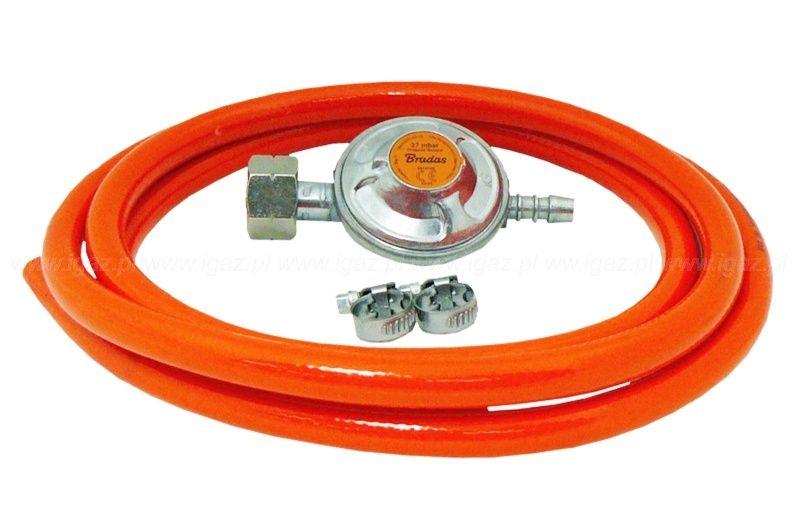 BRADAS Regulátor tlaku plynu 37 mbar komplet