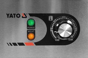 YATO grilovací deska 550 hrubá
